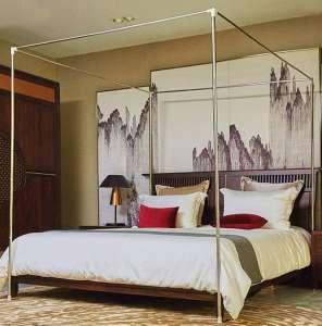 Mengersi Stainless Steel Full Bed Frame