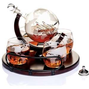 Whiskey Decanter Sets Globe Decanter for Alcohol