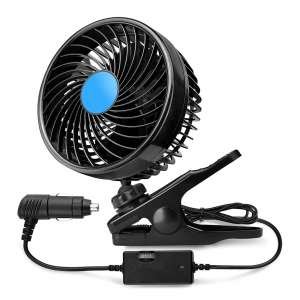XOOL 12V 6-inches Car Cooling Air Fans