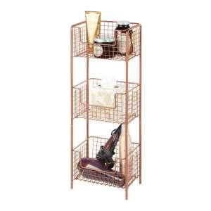 mDesign 3 Tier Vertical Basket Stand