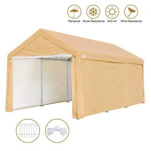 Advance outdoor Car Canopy with Removable Sidewalls