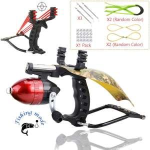 Blue-Ra Y Shot Outdoor Slingshot Fishing Hunting Professional Slingshot High Velocity Catapult Kit