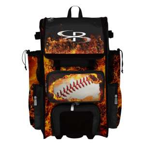 Boombah Wheeled Rolling Superpack 2.0 Baseball Bag