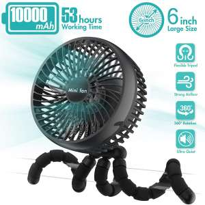 COMLIFE 6-Inch Versatile Cooling Air Fans for Car
