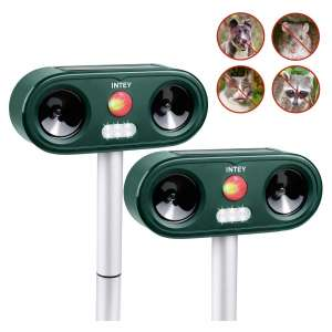 INTEY Animal Repeller with LED Light