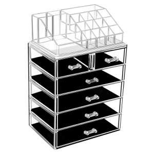 Urmoms Large Makeup and Jewelry Storage Case