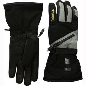 Volt Resistance Mens 7v Heated Waterproof Snow Gloves, Grey, X-Large