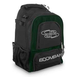 Boombah Wonderpack Black Baseball Bat Backpack