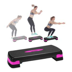 Nicole Miller Aerobic Exercise Adjustable Steppers