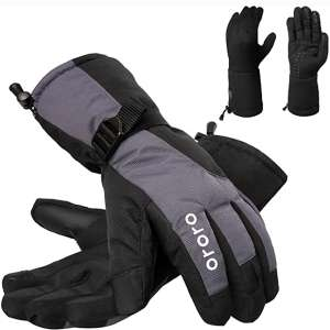 ORORO Heated Gloves for Men and Women, 3-in-1 Warm Gloves for Hiking Skiing Motorcycle