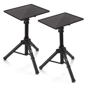 Pyle Universal Laptop Projector Tripod Stand, 2 Pack