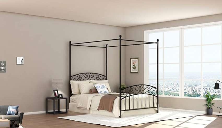 Canopy Bed Frame Full
