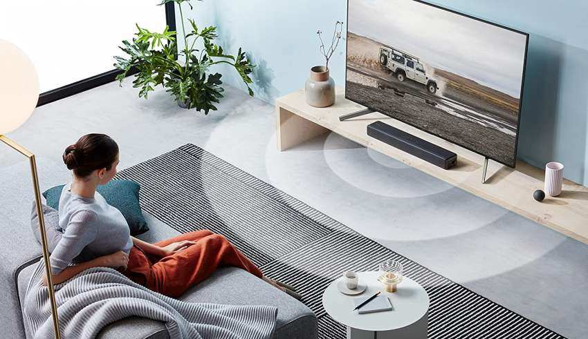 Sound Bars with Built-In Subwoofer