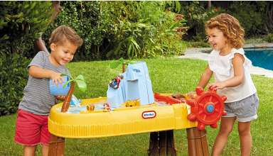 Water and Sand Play Table Set