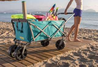 image feature Wonder Wheeler Beach Carts