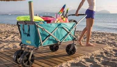 image feature Wonder Wheeler Beach Carts