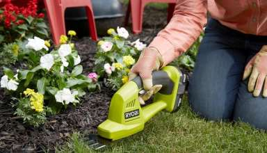 image feature cordless grass shears