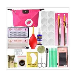 Buqikma Eyelash Extension Kits Professional Eyelashes