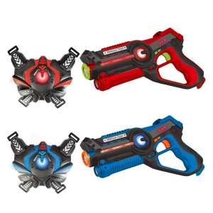 HISTOYE Laser Tag Sets with Gun and Vest for Kids