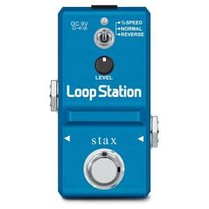 Stax Looper Guitar Pedal with built-in 8G SD Card