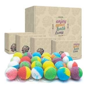 INTEYE 24 Organic Bath Bombs Gift Set