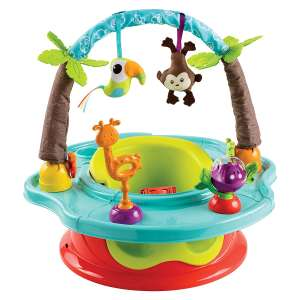 Summer Wild Safari Deluxe Baby Floor Seat