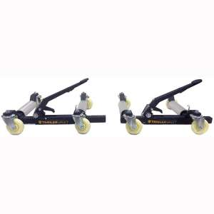 Trailer Valet | TVWD | Trailer:RV:Boat | Dual Axle Wheel Dolly Set (2) | 1,250 lbs Max. Wheel Weight