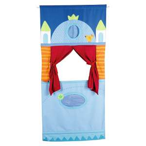 HABA Puppet Theater with an Adjustable Rod