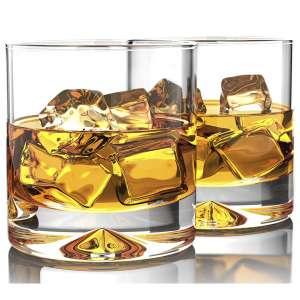 MOFADO Crystal 12oz Hand Blown Whiskey Glasses