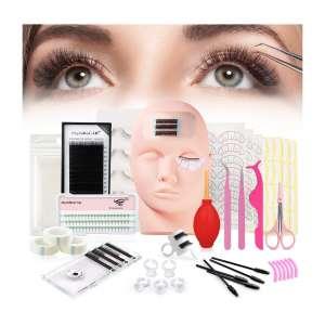 Funfulland Pro 18 Pieces False Eyelashes Extension Kits