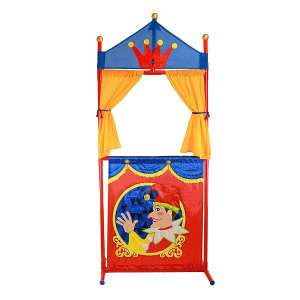 IQ Toys Puppet Show Theater - Simple storage