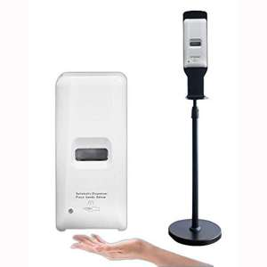 Ka Ming Supply Automatic Hand Sanitizer Dispenser Station [NEXT DAY SHIPPING FROM USA] 1000ML Capacity Auto-Sensing
