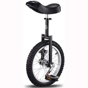 GFYWZZ Unicycle 20 Inch Wheel for Child and Adult, High-Strength Manganese Steel Fork, Adjustable Seat, Aluminum Alloy Buckle, Non-Slip Tires