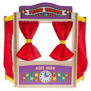 Hey! Play! Tabletop Puppet Theater for Boys & Girls
