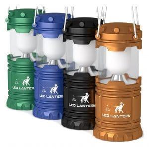 MalloMe Lanterns Battery Powered LED