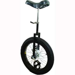 Action Unicycle 20X2.5 in Pro Black Fat Tire