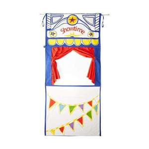MMP Puppet Theater with an Adjustable Rod, 100% Cotton