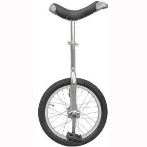Fun 16 Inch Wheel Chrome Unicycle with Alloy Rim