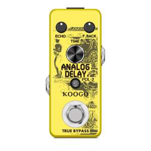 Koogo Delay Pedal with Full Metal Shell