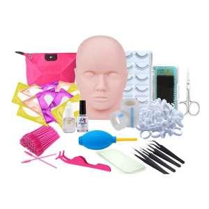 Missicee Eyelash Extension Kits False Eyelashes for Makeup Practice