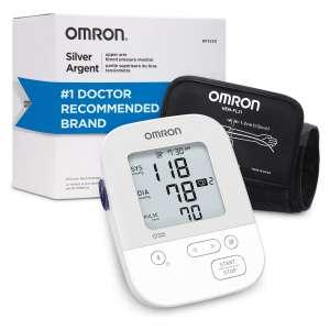 Omron Silver Digital Blood Pressure Machine