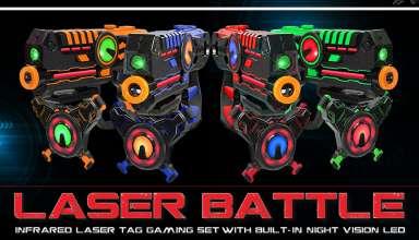 Laser Tag Gun Set