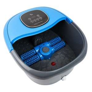 Foot Cure Foot Spa Massagers Basin with Massage Rollers