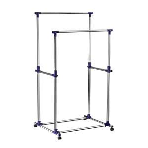 SONGMICS Garment Clothing Racks (Blue)