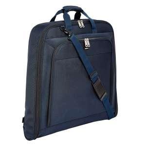 AmazonBasics Premium Hanging Garment Bag, Navy Blue