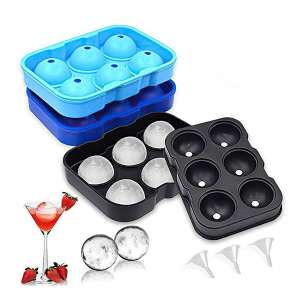 IMustech 3-Pack Ice Ball Makers