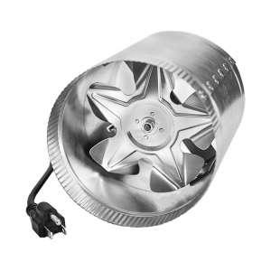 iPower 4-Inch Inline Duct Blower, Grey