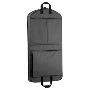 WallyBags 45 Garment Bag w:Pockets, Black