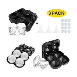 Arkmiido 3 Pack Ice Ball Makers