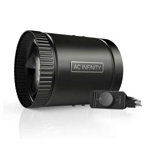AC Infinity RAXIAL Inline Duct Fan with Speed Controller